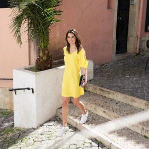 Promod - Yellow Dress
